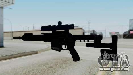 McMillan CS5 No Bipod pour GTA San Andreas deuxième écran