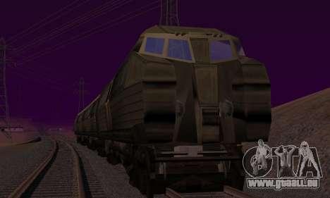 Batman Begins Monorail Train v1 pour GTA San Andreas vue de droite