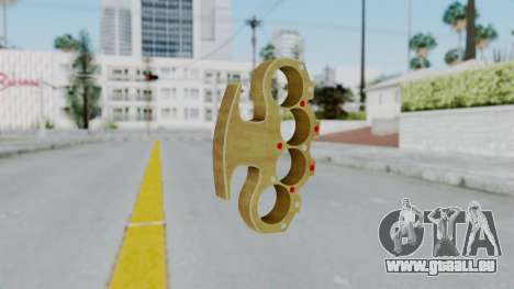 The Pimp Knuckle Dusters from Ill GG Part 2 für GTA San Andreas zweiten Screenshot