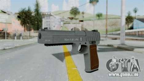 GTA 5 Pistol .50 für GTA San Andreas zweiten Screenshot