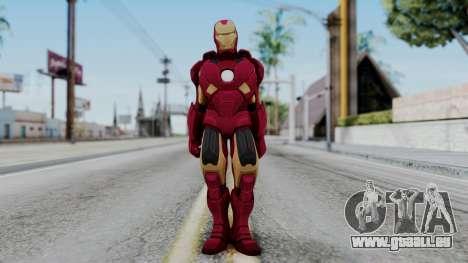Ironman Skin pour GTA San Andreas deuxième écran