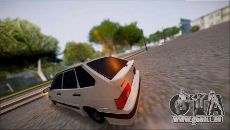 VAZ Lada 2114 für GTA San Andreas zurück linke Ansicht