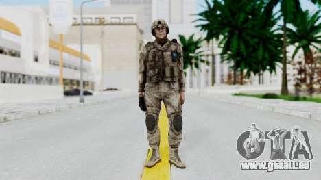 Crysis 2 US Soldier 4 Bodygroup A pour GTA San Andreas deuxième écran