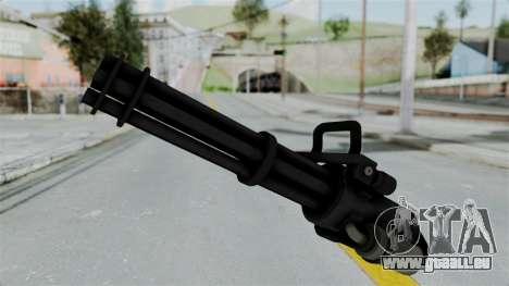 GTA 5 Minigun pour GTA San Andreas deuxième écran