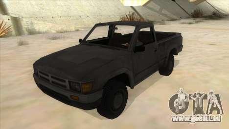 Toyota Hilux Militia für GTA San Andreas