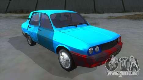 Dacia 1310 Rusty für GTA San Andreas Rückansicht