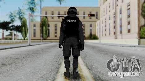 Serbian Zandarmerija v2 für GTA San Andreas dritten Screenshot