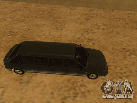 VAZ 2114 9-door pour GTA San Andreas sur la vue arrière gauche