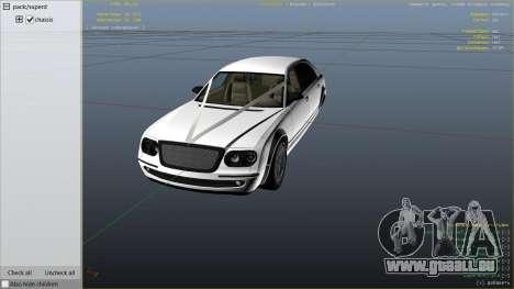 GTA 5 GTA 4 Enus Cognoscenti droite vue latérale
