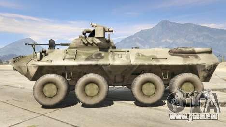 GTA 5 BTR-90 Rostok linke Seitenansicht