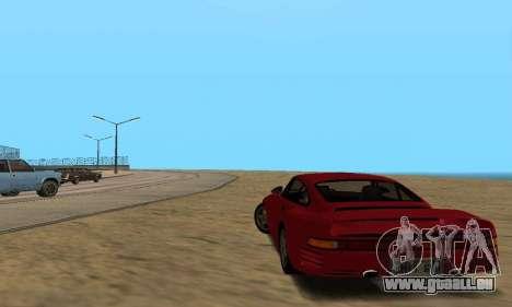 Porsche 959 für GTA San Andreas rechten Ansicht
