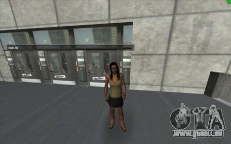 Eine optische Veränderung der Haut für GTA San Andreas dritten Screenshot