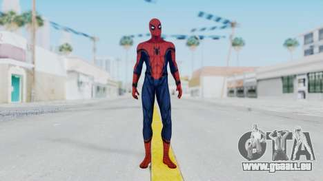 Civil War Spider-Man Alt pour GTA San Andreas deuxième écran