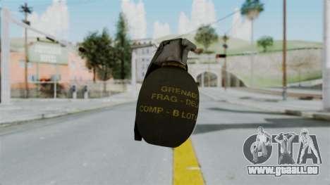 GTA 5 Grenade für GTA San Andreas