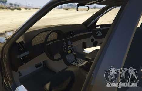 GTA 5 Mercedes-Benz S600 (W140) [Replace] v1.1 vue arrière