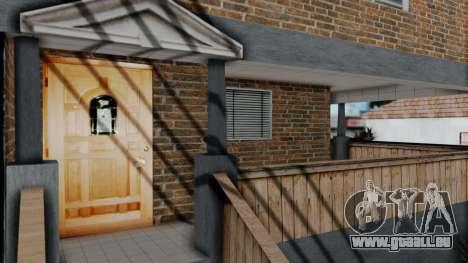 Neue textur zu Hause Se v2 (mit Innenraum) für GTA San Andreas dritten Screenshot