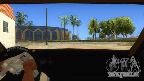 GTA V Sentinel RS MKII für GTA San Andreas Innenansicht