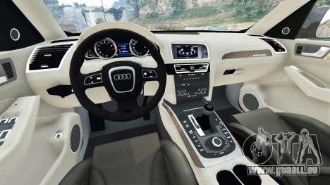 GTA 5 Audi Q5 2015 arrière droit vue de côté