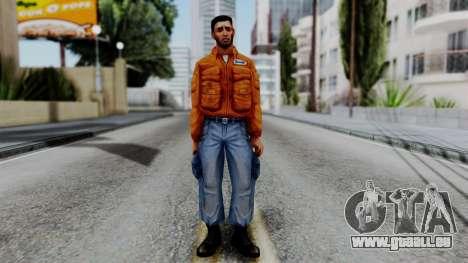 CS 1.6 Hostage 01 pour GTA San Andreas deuxième écran