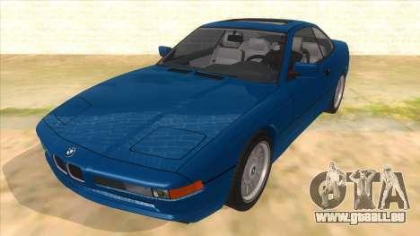BMW 850i E31 pour GTA San Andreas