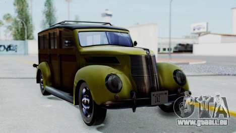 Ford V-8 De Luxe Station Wagon 1937 Mafia2 v1 pour GTA San Andreas