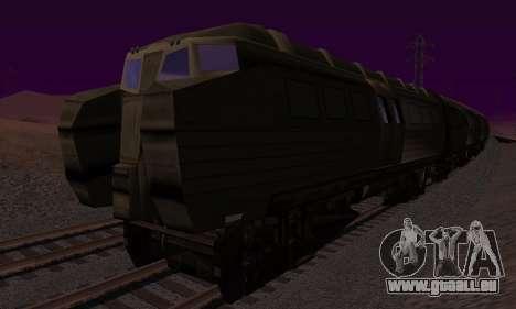 Batman Begins Monorail Train v1 pour GTA San Andreas vue arrière