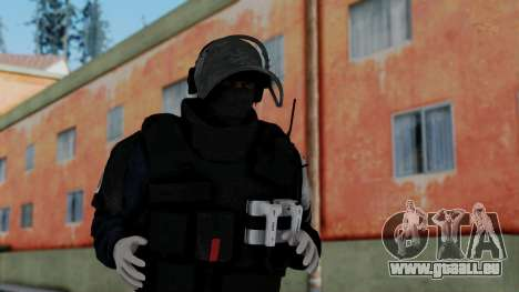 GIGN from Rainbow Six Siege pour GTA San Andreas