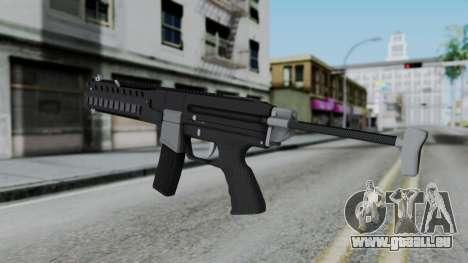 GTA 5 Combat PDW - Misterix 4 Weapons pour GTA San Andreas deuxième écran