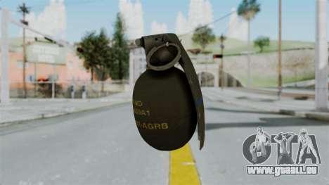 GTA 5 Grenade für GTA San Andreas zweiten Screenshot