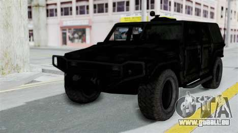 HMLTV-998 BULDOG from Crysis 2 pour GTA San Andreas