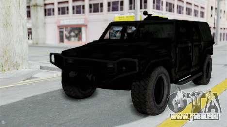 HMLTV-998 BULDOG from Crysis 2 pour GTA San Andreas