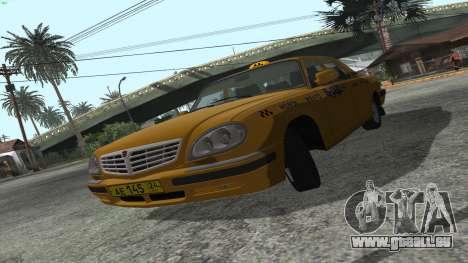 GAZ 31105 Volga Taxi FIV pour GTA San Andreas laissé vue