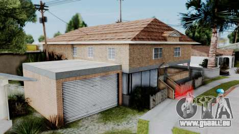 Neue textur zu Hause Se v2 (mit Innenraum) für GTA San Andreas zweiten Screenshot