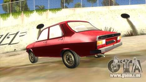 Dacia 1310 für GTA San Andreas zurück linke Ansicht