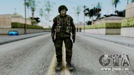 SAJ Maskirna für GTA San Andreas zweiten Screenshot