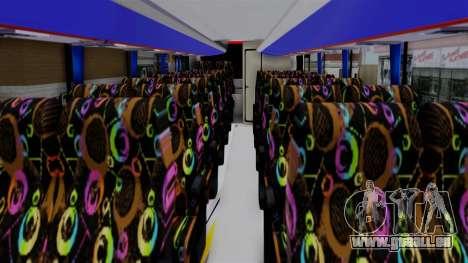 Laksana Legacy Hino AK8 Sugeng Livery pour GTA San Andreas vue de droite