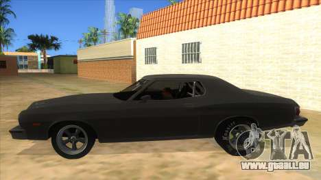 Ford Gran Torino Drag pour GTA San Andreas laissé vue