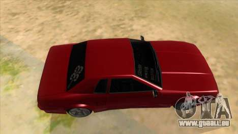 GTR Elegy für GTA San Andreas Innenansicht