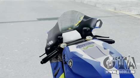 Yamaha YZR M1 2016 für GTA San Andreas Rückansicht
