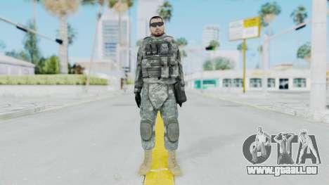 Acu Soldier 6 pour GTA San Andreas deuxième écran