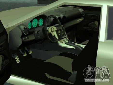 GTR Elegy pour GTA San Andreas vue de côté