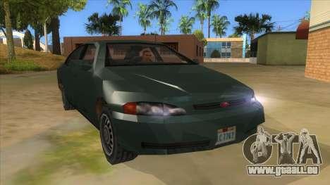 GTA LCS KURUMA pour GTA San Andreas vue arrière