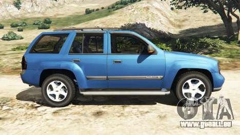 GTA 5 Chevrolet TrailBlazer linke Seitenansicht