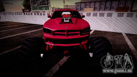 2006 Dodge Charger SRT8 Monster Truck pour GTA San Andreas