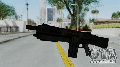 GTA 5 Assault Shotgun für GTA San Andreas zweiten Screenshot