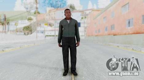 GTA 5 Franklin Clinton pour GTA San Andreas deuxième écran