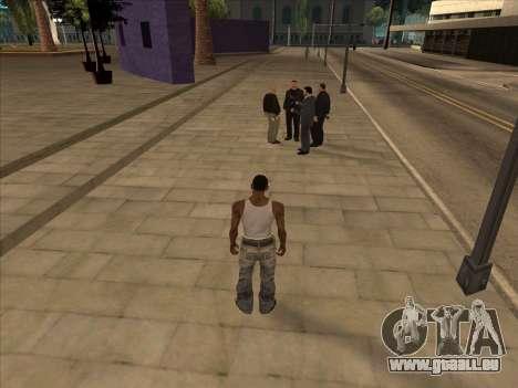 Russen in der Einkaufsstraße für GTA San Andreas dritten Screenshot
