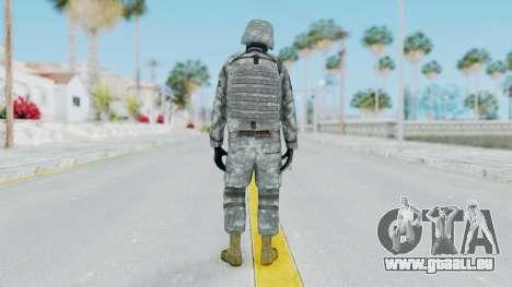 Acu Soldier Balaclava v3 pour GTA San Andreas troisième écran