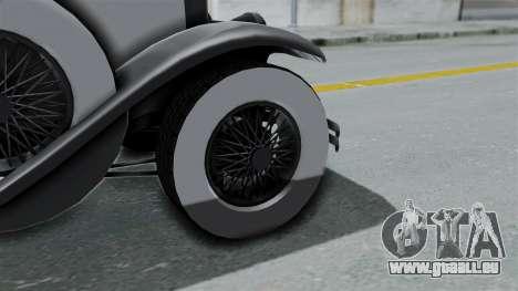 GTA 5 Albany Roosevelt Valor pour GTA San Andreas sur la vue arrière gauche