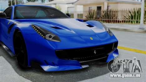 Ferrari F12 TDF 2016 pour GTA San Andreas vue de côté